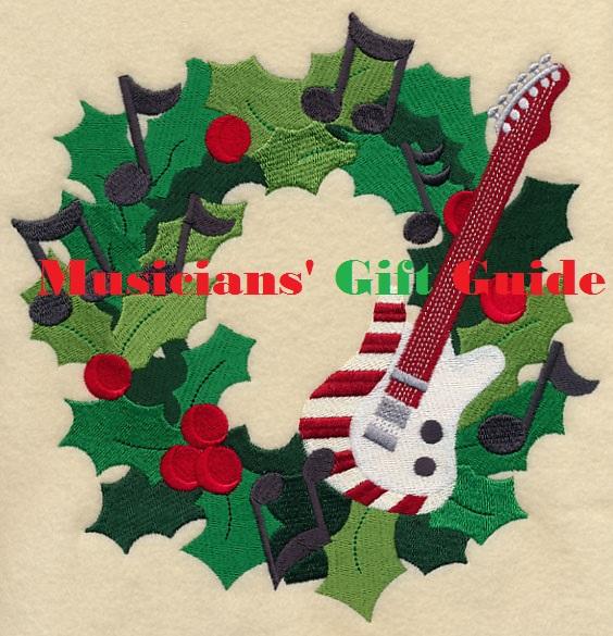 guitar wreath