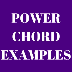 Power Chord Examples